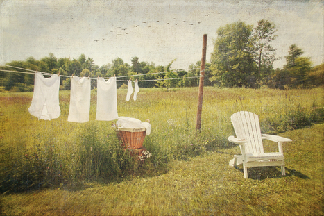 """She left the suds in the bucket and the clothes hangin' out on the line.""                     ~ sara evans"