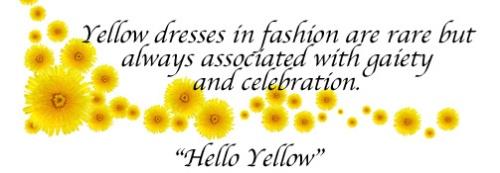 Yellow Dandelions Border