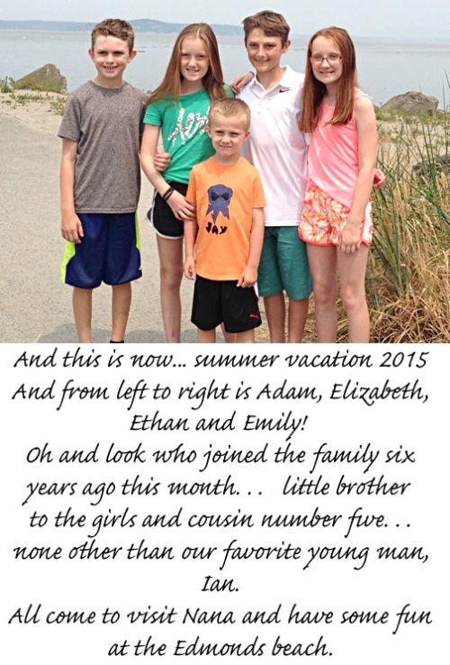kids at edmonds beach