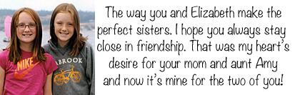 sisters, sisters